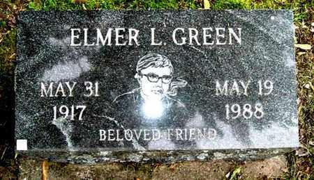 GREEN, ELMER L - Calhoun County, Michigan | ELMER L GREEN - Michigan Gravestone Photos