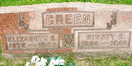 GREEN, ELIZABETH - Calhoun County, Michigan | ELIZABETH GREEN - Michigan Gravestone Photos