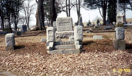 GREEN, FAMILY LOT - Calhoun County, Michigan | FAMILY LOT GREEN - Michigan Gravestone Photos