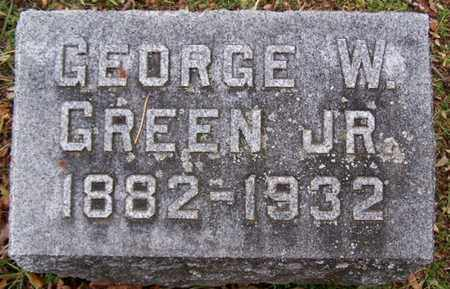 GREEN, GEORGE W. JR - Calhoun County, Michigan | GEORGE W. JR GREEN - Michigan Gravestone Photos