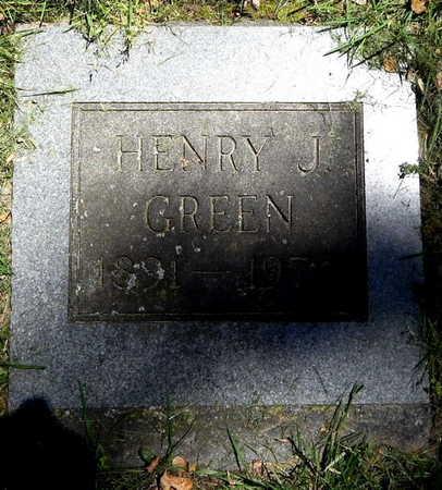 GREEN, HENRY J - Calhoun County, Michigan | HENRY J GREEN - Michigan Gravestone Photos