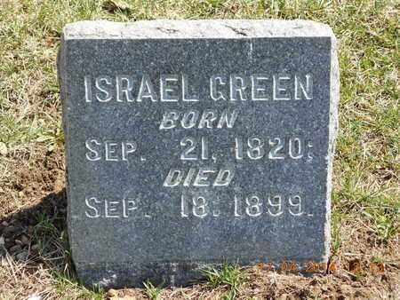 GREEN, ISRAEL - Calhoun County, Michigan | ISRAEL GREEN - Michigan Gravestone Photos