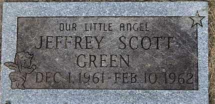 GREEN, JEFFREY SCOTT - Calhoun County, Michigan   JEFFREY SCOTT GREEN - Michigan Gravestone Photos