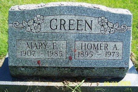 GREEN, HOMER A - Calhoun County, Michigan | HOMER A GREEN - Michigan Gravestone Photos