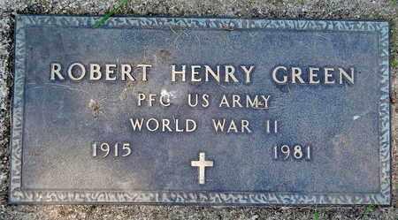 GREEN, ROBERT HENRY - Calhoun County, Michigan | ROBERT HENRY GREEN - Michigan Gravestone Photos