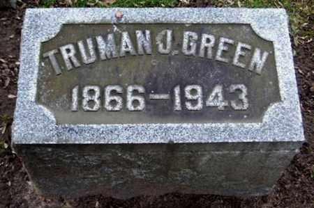 GREEN, TRUMAN J - Calhoun County, Michigan | TRUMAN J GREEN - Michigan Gravestone Photos