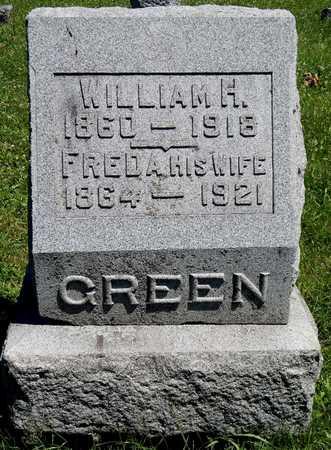 GREEN, WILLIAM H. - Calhoun County, Michigan | WILLIAM H. GREEN - Michigan Gravestone Photos