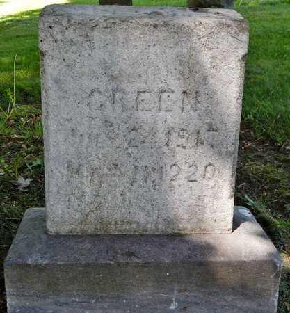 GREEN, WILLIAM E - Calhoun County, Michigan | WILLIAM E GREEN - Michigan Gravestone Photos