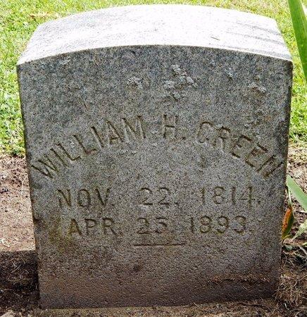 GREEN, WILLIAM H - Calhoun County, Michigan | WILLIAM H GREEN - Michigan Gravestone Photos