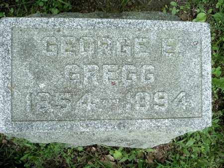 GREGG, GEORGE - Calhoun County, Michigan | GEORGE GREGG - Michigan Gravestone Photos