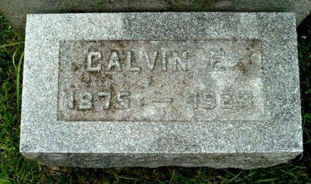 GRILL, CALVIN E - Calhoun County, Michigan | CALVIN E GRILL - Michigan Gravestone Photos