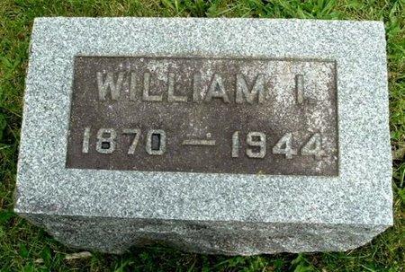 GRILL, WILLIAM I - Calhoun County, Michigan | WILLIAM I GRILL - Michigan Gravestone Photos