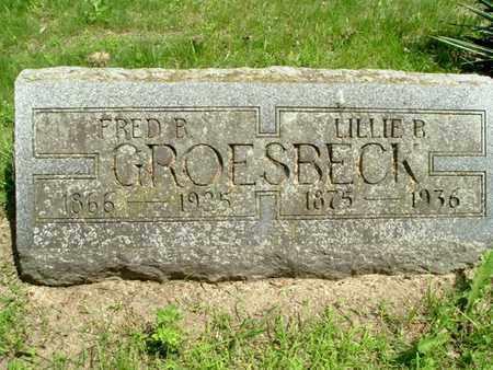 GROESBECK, LILLIE - Calhoun County, Michigan   LILLIE GROESBECK - Michigan Gravestone Photos
