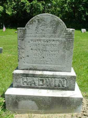 HADWIN, DINAH - Calhoun County, Michigan | DINAH HADWIN - Michigan Gravestone Photos