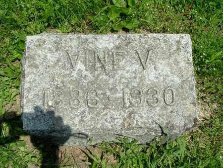 HADWIN, VINE - Calhoun County, Michigan | VINE HADWIN - Michigan Gravestone Photos