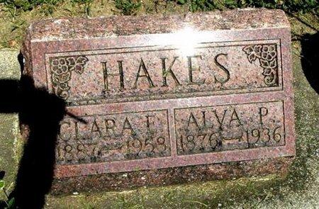 HAKES, ALVA - Calhoun County, Michigan | ALVA HAKES - Michigan Gravestone Photos