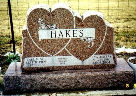 HAKES, CARL M. SR. - Calhoun County, Michigan | CARL M. SR. HAKES - Michigan Gravestone Photos