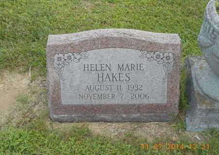 HAKES, HELEN MARIE - Calhoun County, Michigan | HELEN MARIE HAKES - Michigan Gravestone Photos