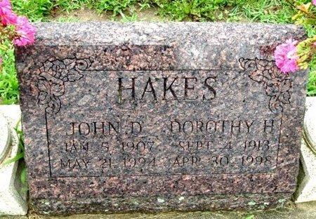 HAKES, JOHN D. - Calhoun County, Michigan | JOHN D. HAKES - Michigan Gravestone Photos