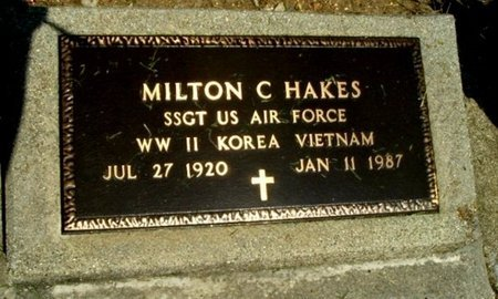 HAKES, MILTON C. - Calhoun County, Michigan | MILTON C. HAKES - Michigan Gravestone Photos