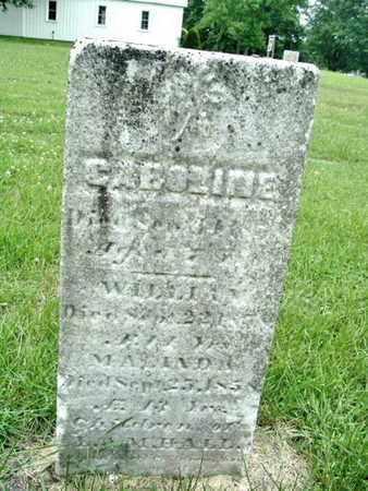 HALL, MALINDA - Calhoun County, Michigan | MALINDA HALL - Michigan Gravestone Photos