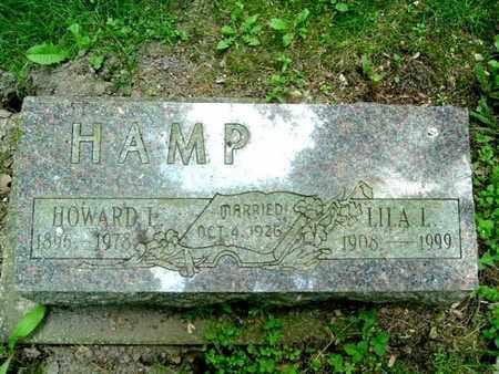 HAMP, LILLA - Calhoun County, Michigan | LILLA HAMP - Michigan Gravestone Photos