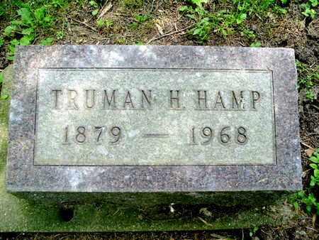 HAMP, TRUMAN - Calhoun County, Michigan | TRUMAN HAMP - Michigan Gravestone Photos