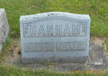 HANHAM, NELLIE - Calhoun County, Michigan | NELLIE HANHAM - Michigan Gravestone Photos