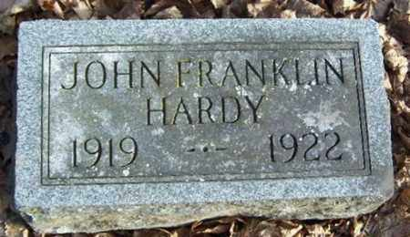 HARDY, JOHN FRANKLIN - Calhoun County, Michigan | JOHN FRANKLIN HARDY - Michigan Gravestone Photos
