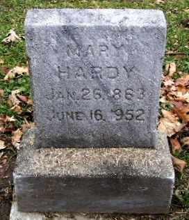 HARDY, MARY - Calhoun County, Michigan   MARY HARDY - Michigan Gravestone Photos