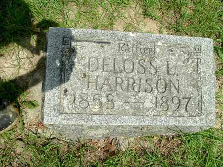 HARRISON, DELOSS - Calhoun County, Michigan | DELOSS HARRISON - Michigan Gravestone Photos