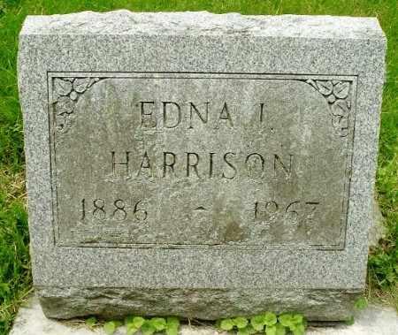 HARRISON, EDNA - Calhoun County, Michigan   EDNA HARRISON - Michigan Gravestone Photos
