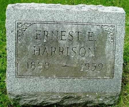 HARRISON, ERNEST E - Calhoun County, Michigan   ERNEST E HARRISON - Michigan Gravestone Photos