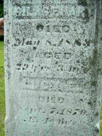 HART, SILAS - Calhoun County, Michigan   SILAS HART - Michigan Gravestone Photos