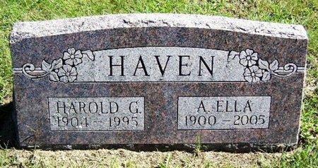 HAVEN, A. ELLA - Calhoun County, Michigan | A. ELLA HAVEN - Michigan Gravestone Photos