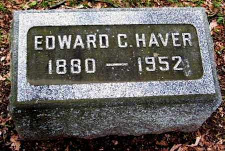 HAVER, EDWARD C - Calhoun County, Michigan | EDWARD C HAVER - Michigan Gravestone Photos