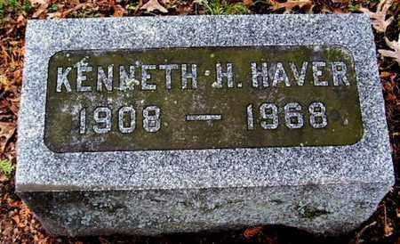 HAVER, KENNETH H - Calhoun County, Michigan | KENNETH H HAVER - Michigan Gravestone Photos