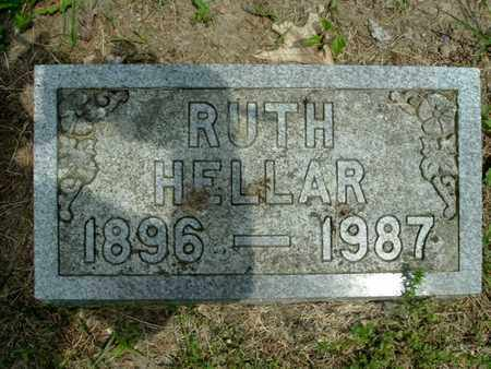 HELLAR, RUTH - Calhoun County, Michigan | RUTH HELLAR - Michigan Gravestone Photos