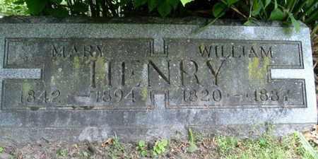 HENRY, MARY - Calhoun County, Michigan | MARY HENRY - Michigan Gravestone Photos