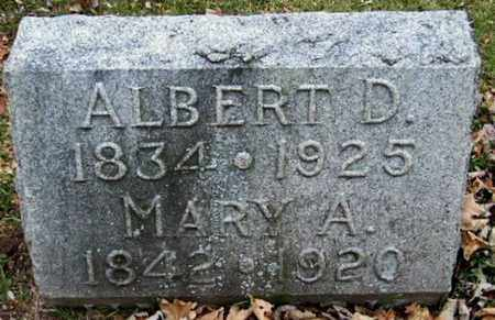 HERRICK, MARY A - Calhoun County, Michigan | MARY A HERRICK - Michigan Gravestone Photos
