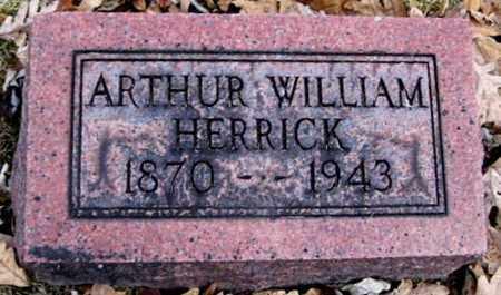 HERRICK, ARTHUR W - Calhoun County, Michigan   ARTHUR W HERRICK - Michigan Gravestone Photos