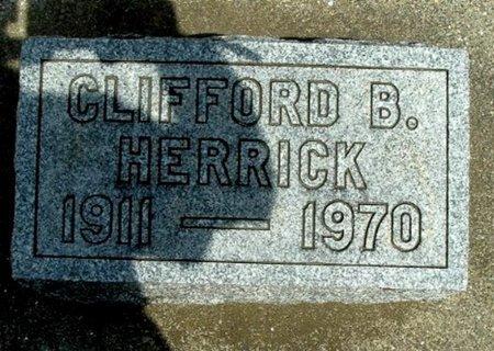 HERRICK, CLIFFORD B. - Calhoun County, Michigan | CLIFFORD B. HERRICK - Michigan Gravestone Photos