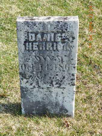 HERRICK, DANIEL - Calhoun County, Michigan | DANIEL HERRICK - Michigan Gravestone Photos