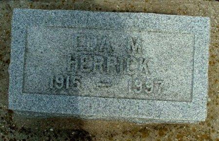 HERRICK, EDNA M. - Calhoun County, Michigan | EDNA M. HERRICK - Michigan Gravestone Photos