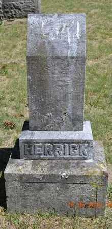 HERRICK, ETTIE - Calhoun County, Michigan | ETTIE HERRICK - Michigan Gravestone Photos