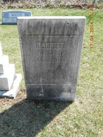 HERRICK, HARRIET - Calhoun County, Michigan   HARRIET HERRICK - Michigan Gravestone Photos
