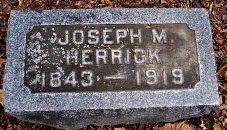 HERRICK, JOSEPH M - Calhoun County, Michigan | JOSEPH M HERRICK - Michigan Gravestone Photos
