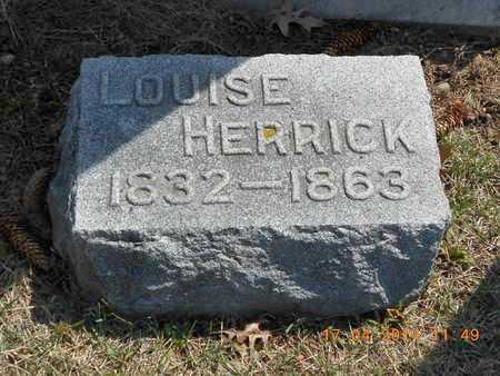 HERRICK, LOUISE - Calhoun County, Michigan   LOUISE HERRICK - Michigan Gravestone Photos