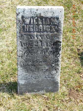 HERRICK, WILLIAM - Calhoun County, Michigan   WILLIAM HERRICK - Michigan Gravestone Photos