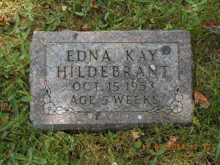 HILDEBRANT, EDNA KAY - Calhoun County, Michigan | EDNA KAY HILDEBRANT - Michigan Gravestone Photos